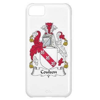 Escudo de la familia de Coulson Funda Para iPhone 5C