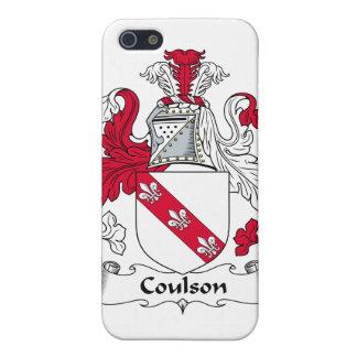 Escudo de la familia de Coulson iPhone 5 Carcasas