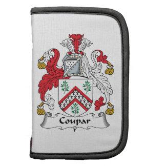 Escudo de la familia de Coupar Planificadores
