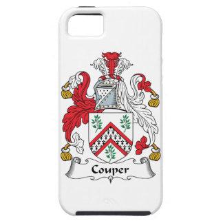 Escudo de la familia de Couper iPhone 5 Case-Mate Funda