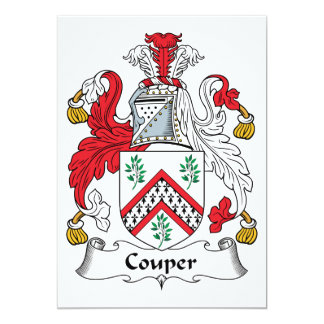 Escudo de la familia de Couper Anuncio Personalizado