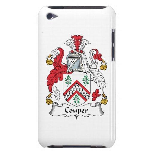 Escudo de la familia de Couper iPod Touch Case-Mate Coberturas