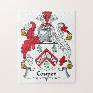 Escudo de la familia de Couper Rompecabezas