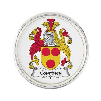 Escudo de la familia de Courtney Insignia