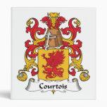 Escudo de la familia de Courtois