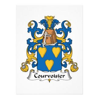Escudo de la familia de Courvoisier Comunicados