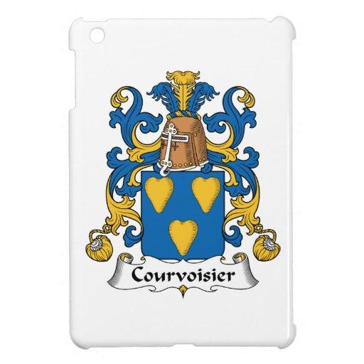 Escudo de la familia de Courvoisier iPad Mini Cobertura