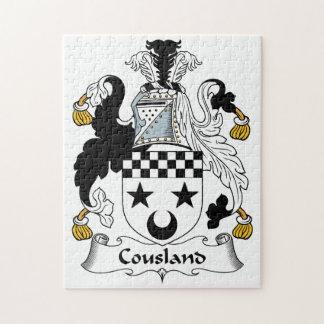 Escudo de la familia de Cousland Puzzles Con Fotos