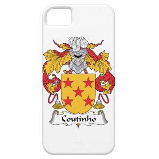 Escudo de la familia de Coutinho iPhone 5 Case-Mate Protectores