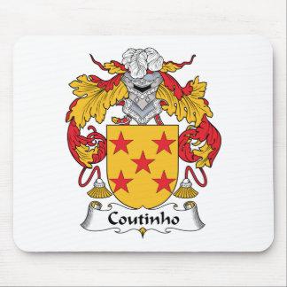 Escudo de la familia de Coutinho Mousepad
