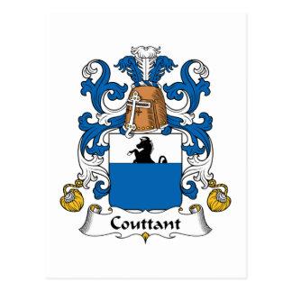Escudo de la familia de Couttant Postales