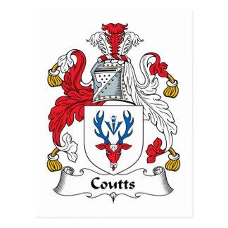 Escudo de la familia de Coutts Postal