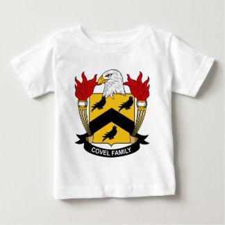 Escudo de la familia de Covel Playera De Bebé