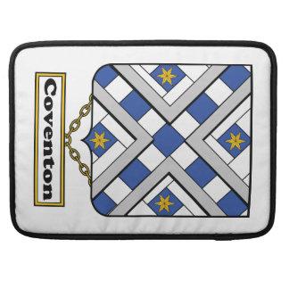 Escudo de la familia de Coventon Fundas Para Macbook Pro