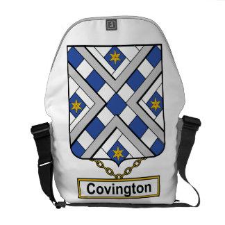 Escudo de la familia de Covington Bolsa De Mensajeria