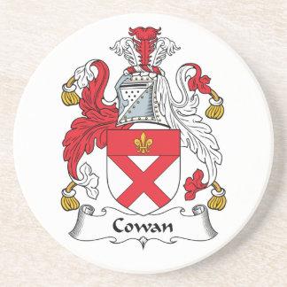 Escudo de la familia de Cowan Posavasos Para Bebidas