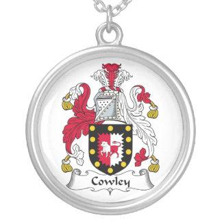 Escudo de la familia de Cowley Colgante Redondo