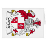 Escudo de la familia de Cowper Tarjeta