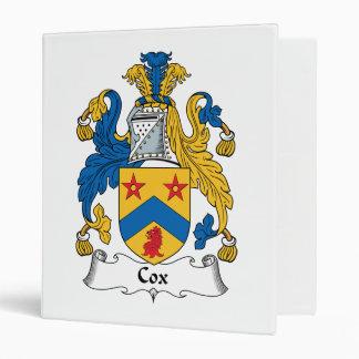 Escudo de la familia de cox