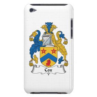 Escudo de la familia de cox Case-Mate iPod touch coberturas