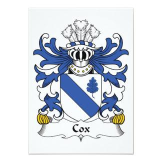 Escudo de la familia de $cox