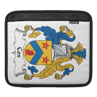 Escudo de la familia de cox manga de iPad
