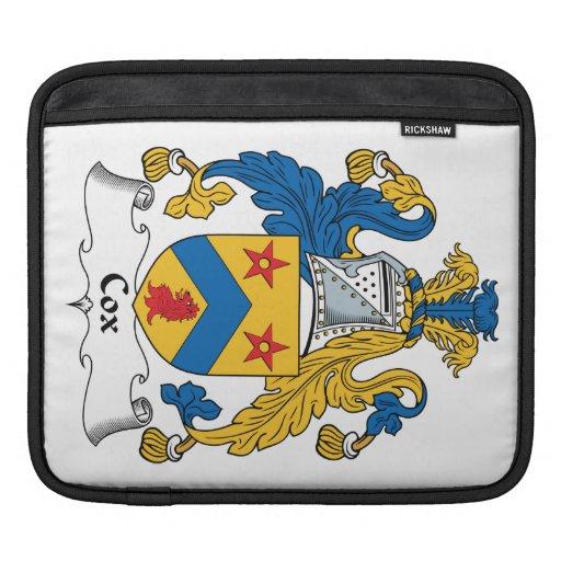 Escudo de la familia de $cox manga de iPad