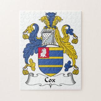 Escudo de la familia de $cox rompecabeza
