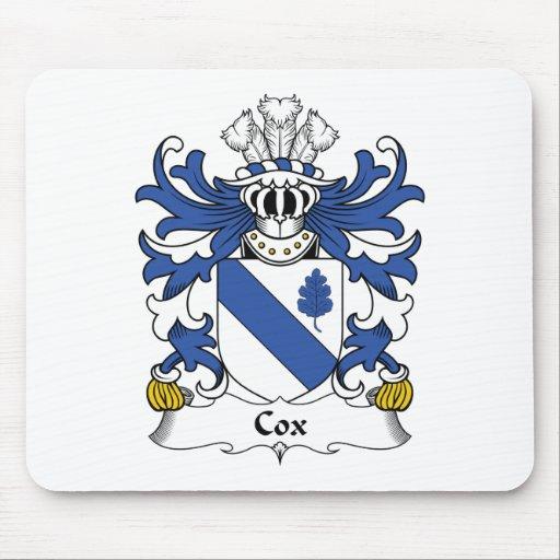Escudo de la familia de $cox alfombrillas de ratones