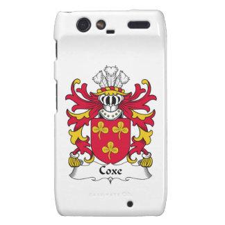Escudo de la familia de Coxe Motorola Droid RAZR Carcasa