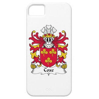 Escudo de la familia de Coxe iPhone 5 Case-Mate Cárcasa