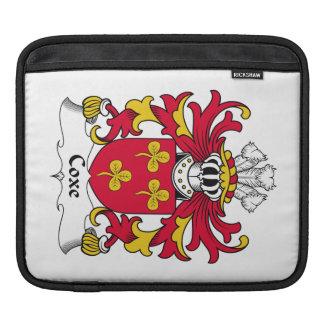 Escudo de la familia de Coxe Mangas De iPad