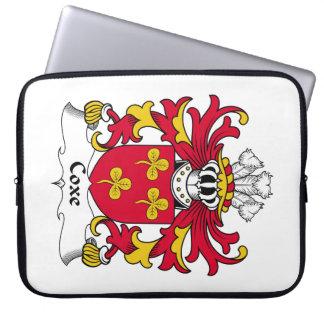 Escudo de la familia de Coxe Mangas Portátiles
