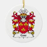 Escudo de la familia de Coxe Ornatos