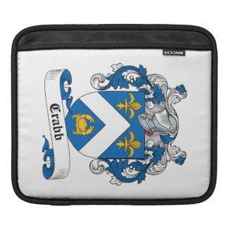 Escudo de la familia de Crabb Mangas De iPad