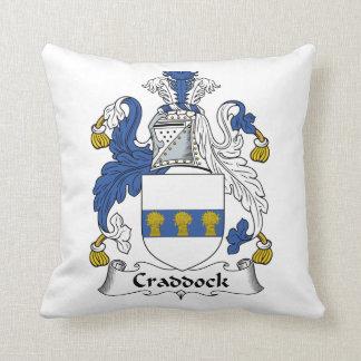Escudo de la familia de Craddock Almohada