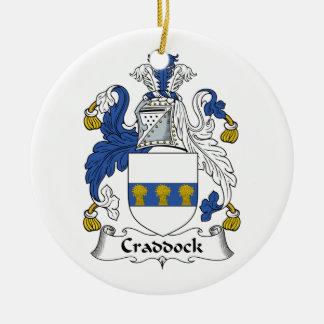 Escudo de la familia de Craddock Ornamento De Reyes Magos