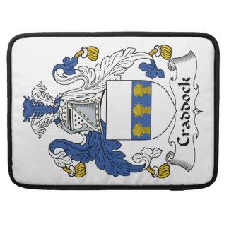 Escudo de la familia de Craddock Funda Para Macbooks