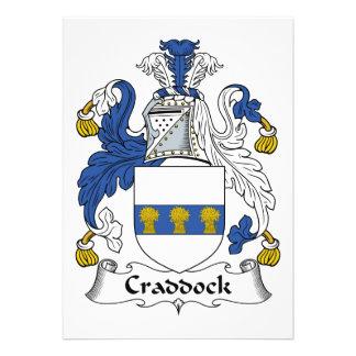 Escudo de la familia de Craddock Comunicado Personal