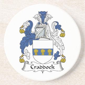 Escudo de la familia de Craddock Posavasos Manualidades