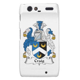 Escudo de la familia de Craig Motorola Droid RAZR Carcasas