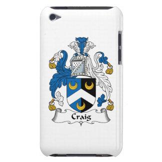 Escudo de la familia de Craig iPod Touch Case-Mate Fundas