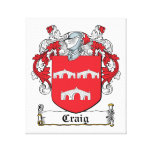 Escudo de la familia de Craig Lona Estirada Galerías