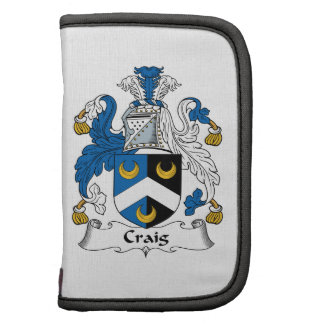 Escudo de la familia de Craig Planificadores