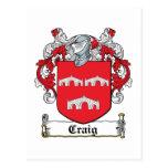 Escudo de la familia de Craig Postal