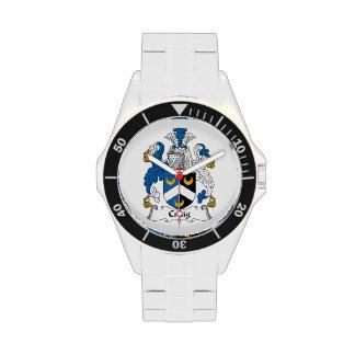 Escudo de la familia de Craig Relojes De Mano