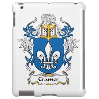 Escudo de la familia de Cramer Funda Para iPad
