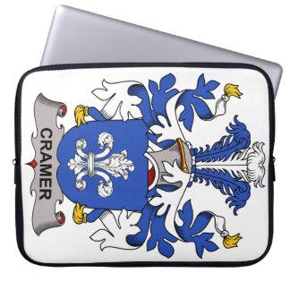 Escudo de la familia de Cramer Fundas Computadoras