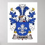 Escudo de la familia de Cramer Impresiones
