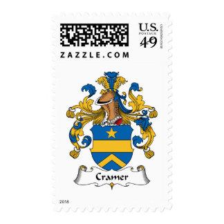 Escudo de la familia de Cramer Sello